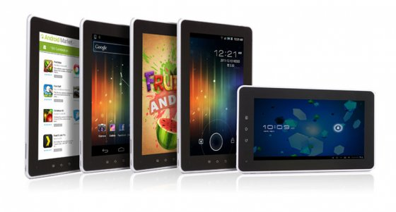 MyAudio Tablet Series 7, 708A