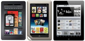 Kindle Fire, Nook Tablet vagy iPad 2?